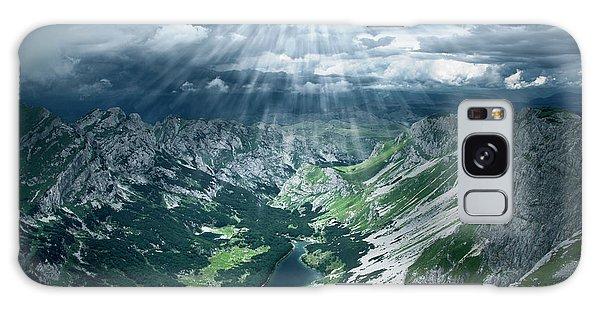 Cloudscape Galaxy Case - Skrcko Lake On Durmitor Mountain by Marko Radovanovic