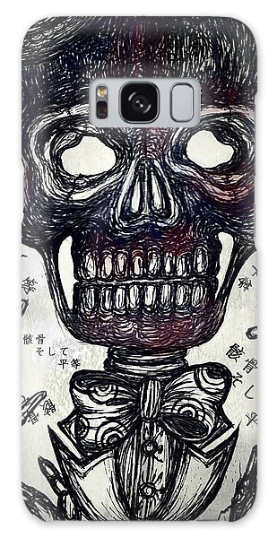 Galaxy Case - Skull And Equality by Akiko Okabe