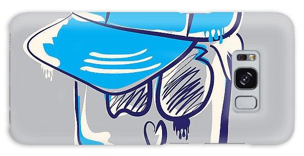 T-shirts Galaxy Case - Skull Boy Illustration, Typography by Syquallo