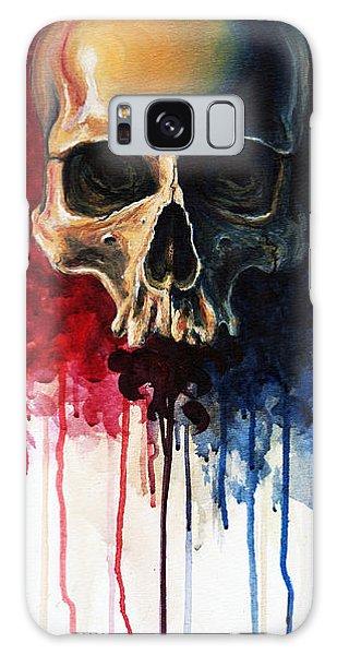 Skull Galaxy Case - Skull by David Kraig