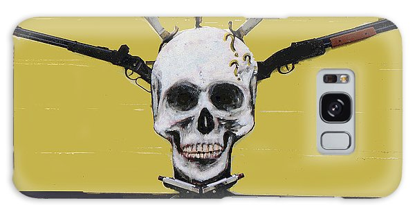 Skull With Guns Galaxy Case
