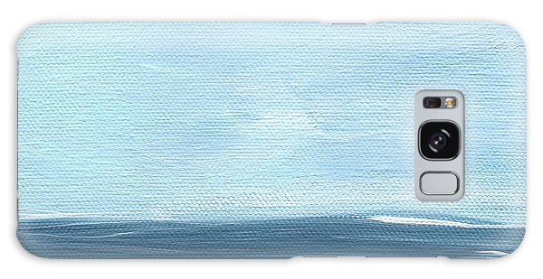 Calm Galaxy Case - Sky And Sea by Linda Woods