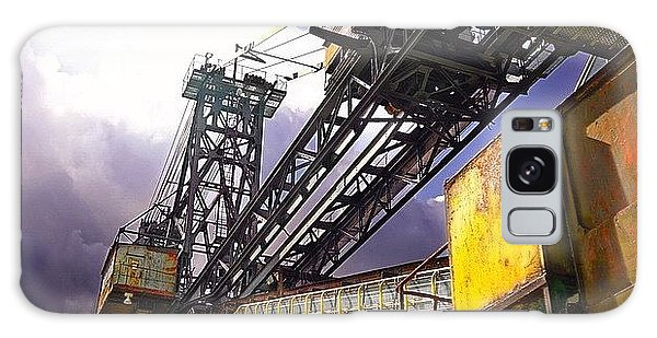 Detail Galaxy Case - #sky #architecture #industrie #summer by Phil Grubers