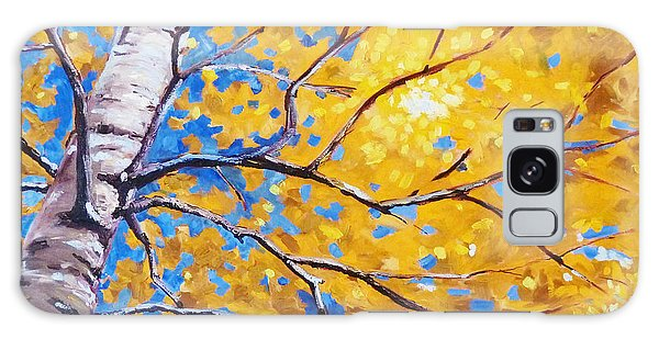 Limb Galaxy Case - Sky Birch by Nancy Merkle