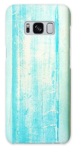 Sky Blue Entrance Entre Vous Galaxy Case by Asha Carolyn Young