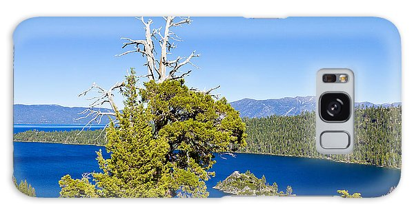 Sky Blue Water - Emerald Bay - Lake Tahoe Galaxy Case