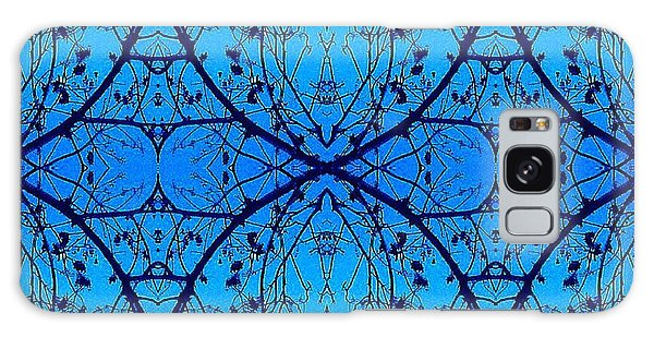 Sky Diamonds Abstract Photo Galaxy Case