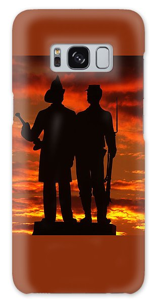 Sky Fire - 73rd Ny Infantry Fourth Excelsior Second Fire Zouaves-a1 Sunrise Autumn Gettysburg Galaxy Case