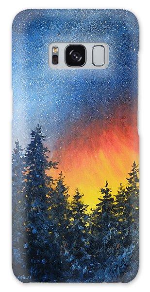 Sky Fire Galaxy Case