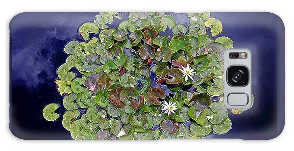 Sky Lilies Galaxy Case