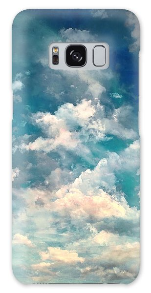 Thought Provoking Galaxy Case - Sky Moods - Refreshing by Glenn McCarthy