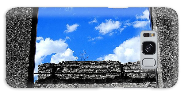Sky Windows Galaxy Case by Nina Ficur Feenan