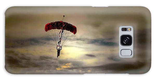 Evening Skydiver Galaxy Case by Dyle   Warren