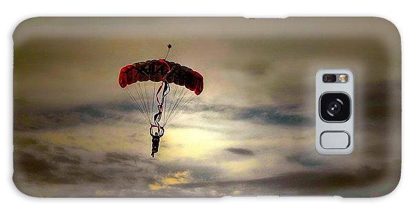 Evening Skydiver Galaxy Case