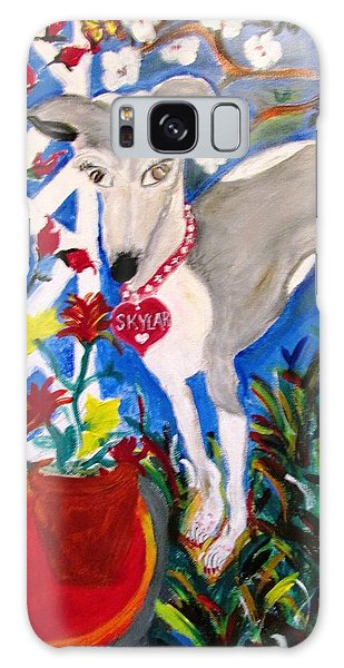 Skylar Miniature Greyhound Galaxy Case