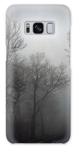 Skyline Drive In Fog Galaxy Case by Greg Reed