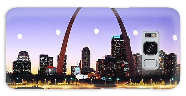 St Louis Mo Galaxy Case - Skyline St Louis Missouri Usa by Panoramic Images