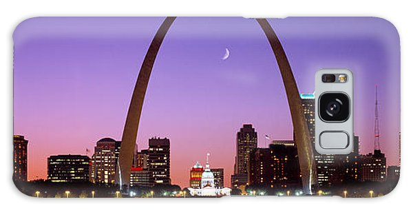 St Louis Mo Galaxy Case - Skyline, St. Louis, Mo, Usa by Panoramic Images