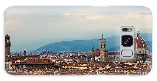 Skyline View Of Florence Italy Galaxy Case