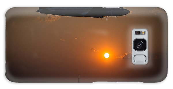Galaxy Case featuring the photograph Skymaster Sunset by Paul Job