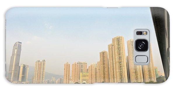 Skyscrapers In Hong Kong Galaxy Case
