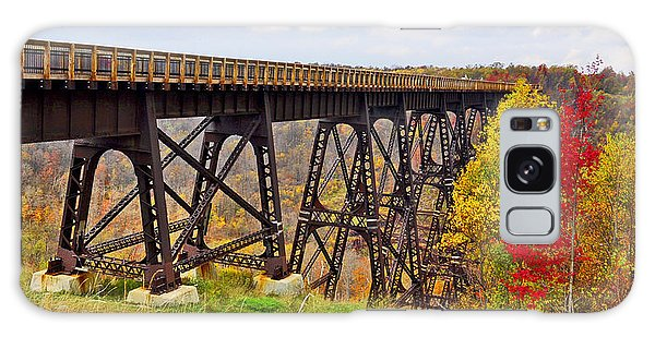 Skywalk Kinzua Bridge State Park Mckean County Pennsylvania Galaxy Case by A Gurmankin