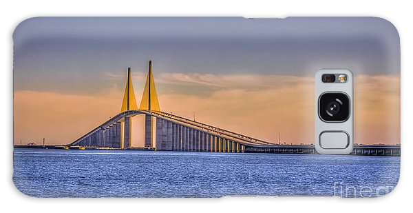 Skyway Bridge Galaxy Case by Marvin Spates
