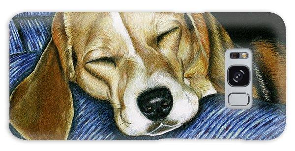 Sleeping Beagle Galaxy Case
