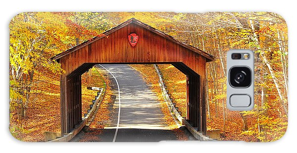 Sleeping Bear National Lakeshore Covered Bridge Galaxy Case