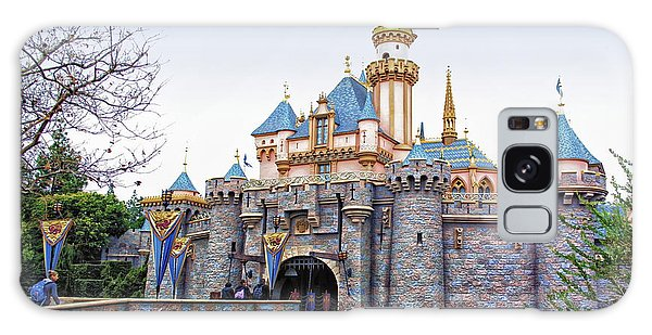 Sleeping Beauty Castle Disneyland Side View Galaxy Case by Thomas Woolworth