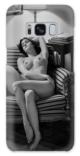 Sitting Nude Galaxy Case - Sleeping Beauty by Fabrizio Micheli