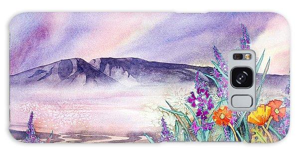 Sleeping Lady Sunset Galaxy Case by Teresa Ascone