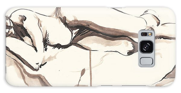 Sleeping Nude Galaxy Case