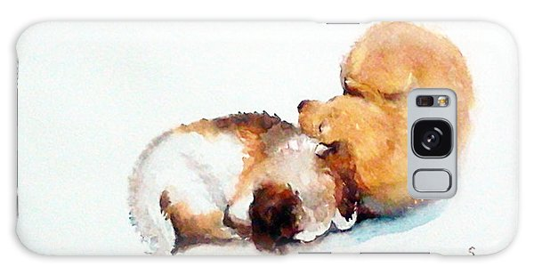 Sleeping Puppies Galaxy Case