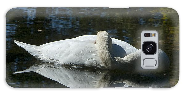 Sleeping Swan Galaxy Case