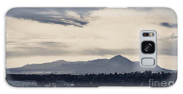 Sleeping Ute Mountain Galaxy Case by Janice Rae Pariza