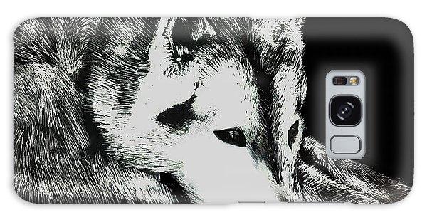 Sleeping Wolf Galaxy Case