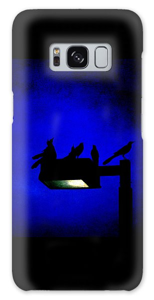 Sleepless At Midnight Galaxy Case