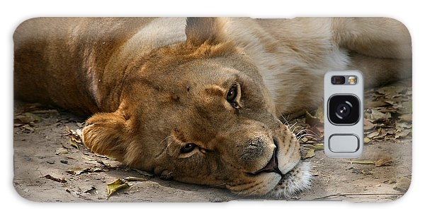 Sleepy Lioness Galaxy Case