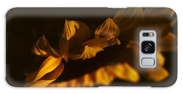 Sleepy Sunflower Galaxy Case by The Forests Edge Photography - Diane Sandoval