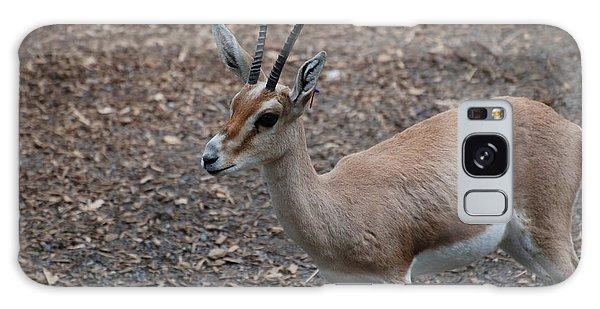 Slender Horned Gazelle Galaxy Case by DejaVu Designs