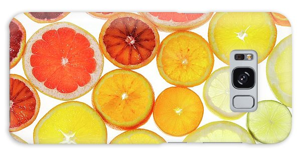 Slices Of Citrus Fruit Galaxy Case by Cordelia Molloy