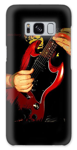 Red Gibson Guitar Galaxy Case