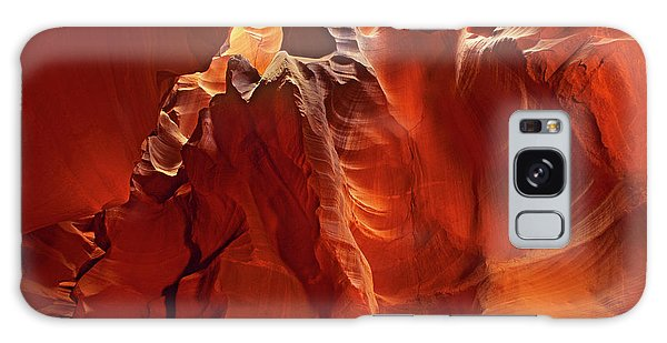 Slot Canyon Formations In Upper Antelope Canyon Arizona Galaxy Case by Dave Welling