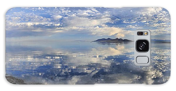 Slow Ripples Over The Shallow Waters Of The Great Salt Lake Galaxy Case