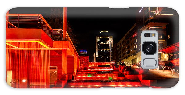 Smale Park At Night Galaxy Case