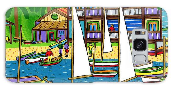 Small Boat Regatta - Cedar Key Galaxy Case