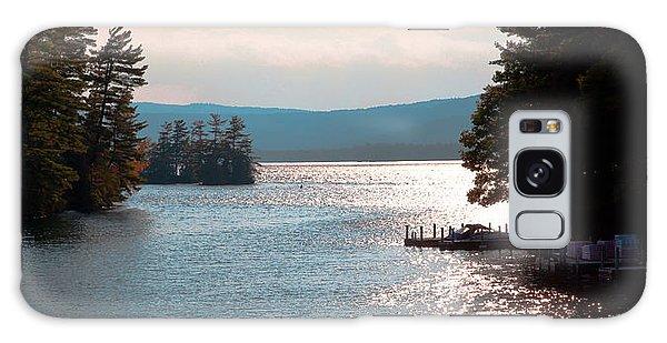Small Dock On Lake George Galaxy Case