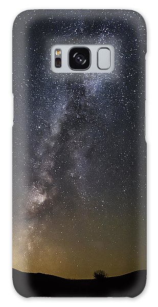Small Under The Night Sky Galaxy Case