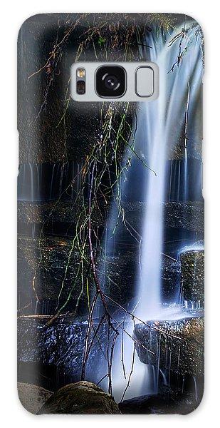 Stream Galaxy Case - Small Waterfall by Tom Mc Nemar